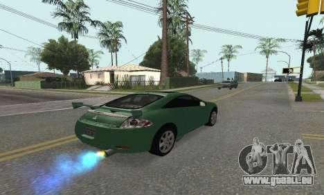 Mitsubishi Eclipse GT für GTA San Andreas linke Ansicht