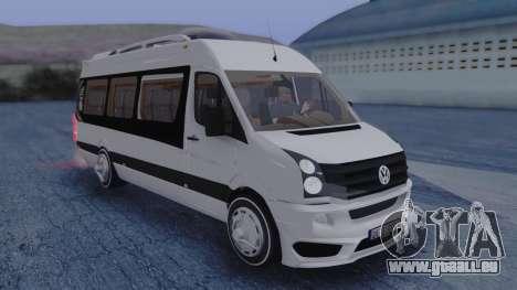 Volkswagen Crafter 2015 für GTA San Andreas rechten Ansicht