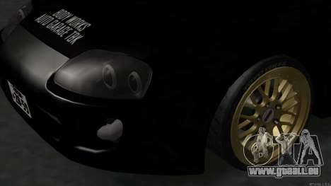 Toyota Supra Mid Night pour GTA San Andreas vue de droite