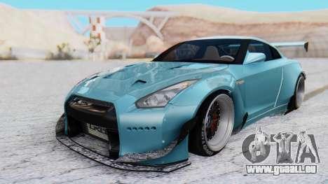Nissan GT-R R35 Rocket Bunny v2 pour GTA San Andreas