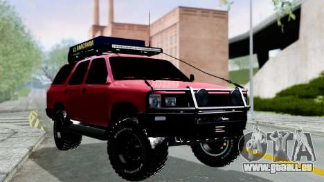 Toyota 4Runner 1995 Offroad pour GTA San Andreas