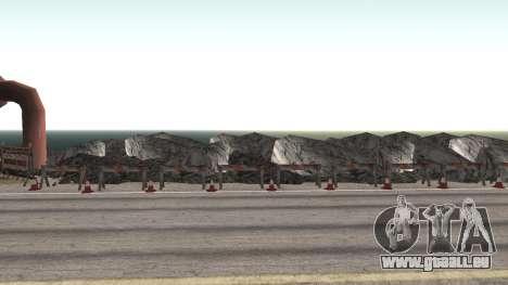 Route de réparation-Les Saints - Les entreprises pour GTA San Andreas septième écran