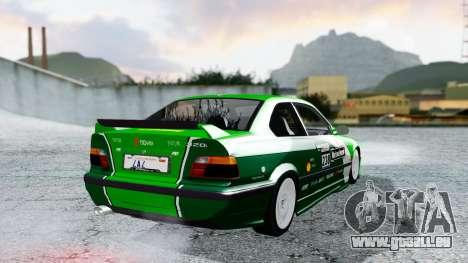 BMW M3 Coupe E36 (320i) 1997 pour GTA San Andreas moteur