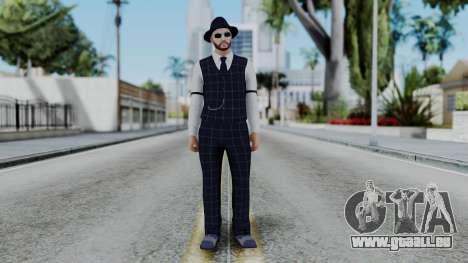 GTA Online Be My Valentine Skin 5 pour GTA San Andreas deuxième écran