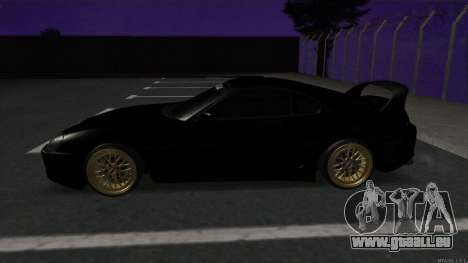 Toyota Supra Mid Night für GTA San Andreas linke Ansicht