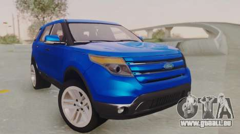 Ford Explorer für GTA San Andreas rechten Ansicht