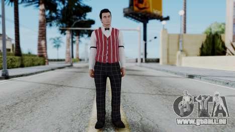 Be My Valentine DLC Male Skin pour GTA San Andreas deuxième écran