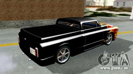 Blade New PJ pour GTA San Andreas vue de droite