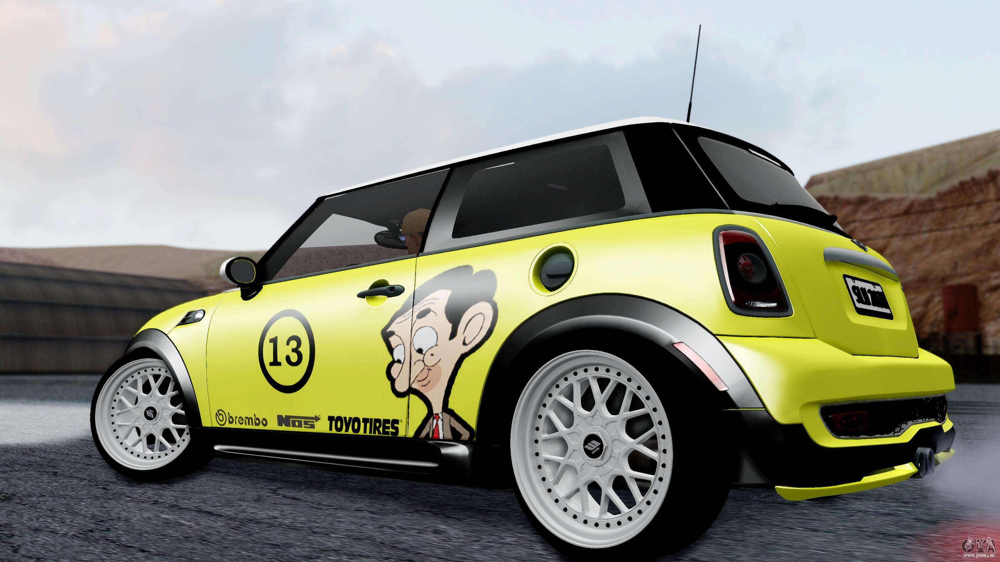 Mini John Cooper Works Mr Bean Pour Gta San Andreas