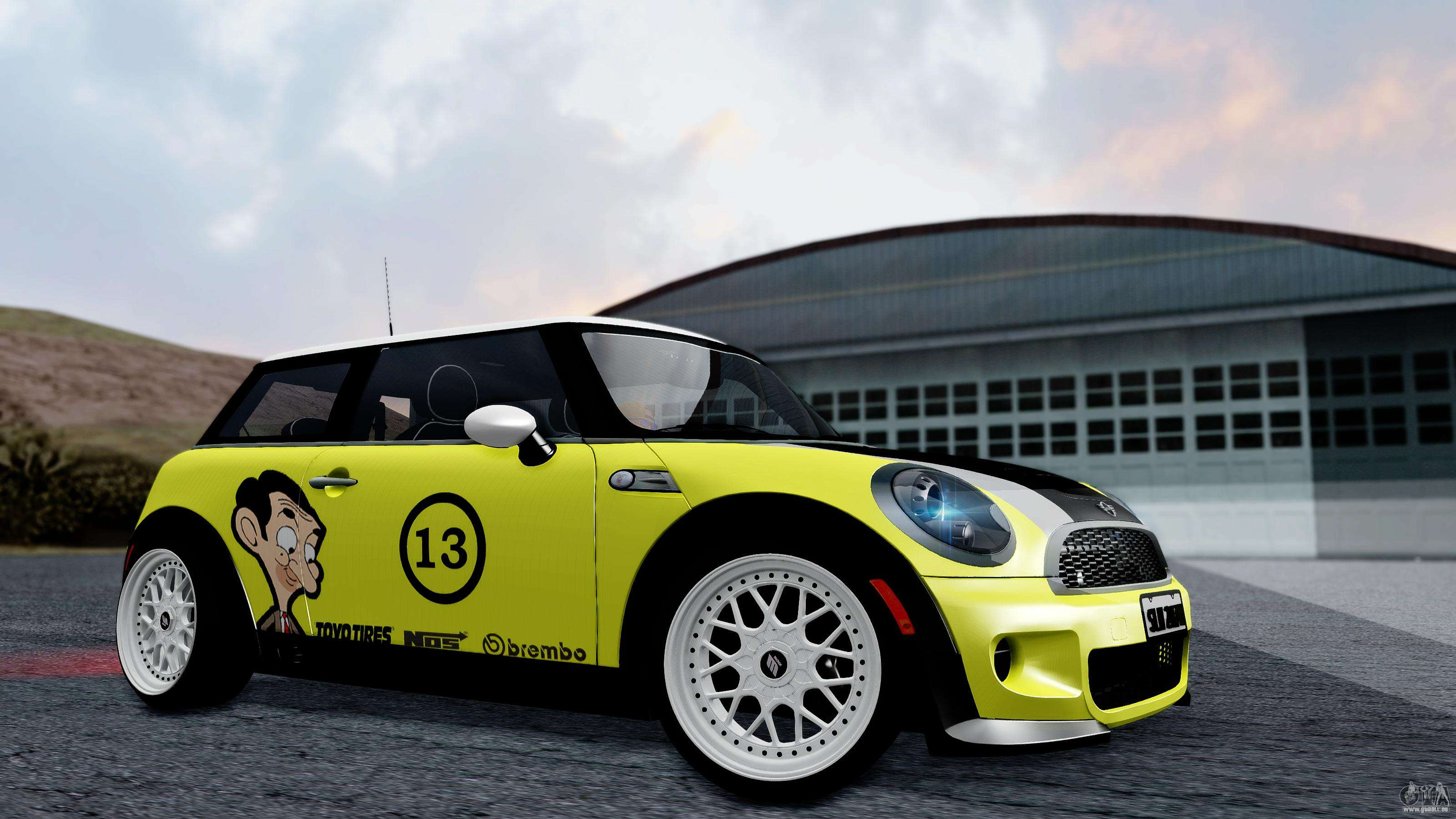 Mini John Cooper Works Mr.Bean pour GTA San Andreas