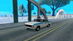 Moskvitch 412 Police pour GTA San Andreas