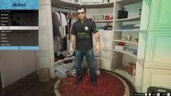 Nvidia-Polo-shirt für Michael