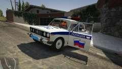 VAZ 2106 de la Police