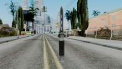 CoD Black Ops 2 - Balistic Knife pour GTA San Andreas