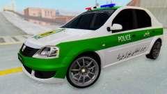 Dacia Logan Iranian Police Naja