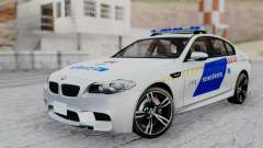 BMW M5 F10 Hungarian Police Car