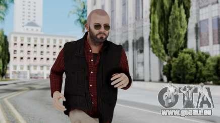 Hunter Costume Michael für GTA San Andreas