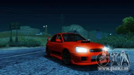 Subaru Impreza WRX STi LP 400 pour GTA San Andreas