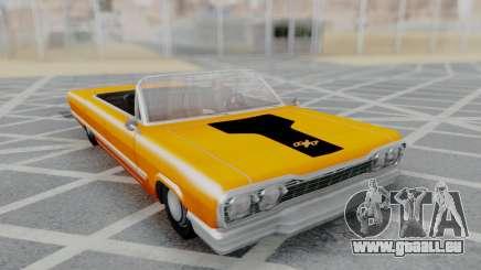 Savanna 2F2F Challenger PJ für GTA San Andreas