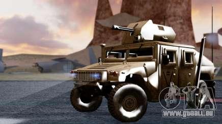 HUMVEE M1114 Desert pour GTA San Andreas