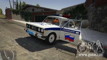 VAZ 2106 Police für GTA 5