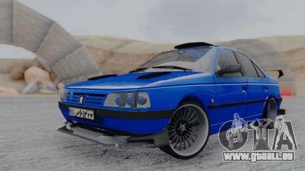Peugeot 405 Full Tuning für GTA San Andreas