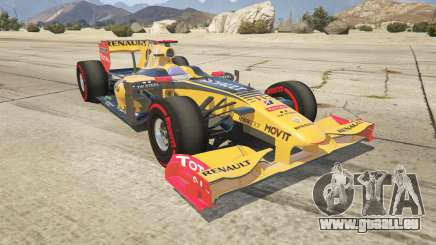 Renault F1 pour GTA 5