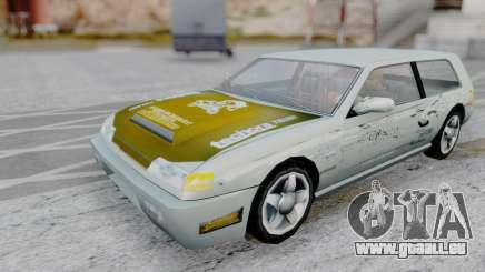 Flash F&F3 Silvia PJ für GTA San Andreas