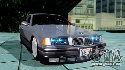 BMW M3 Coupe E36 (320i) 1997 pour GTA San Andreas