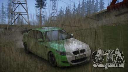 BMW m5 e60 Verdura pour GTA San Andreas