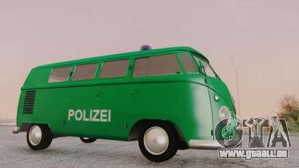Volkswagen T1 Polizei pour GTA San Andreas