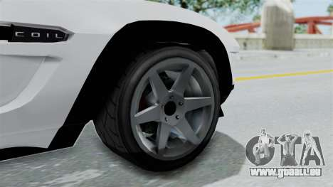 GTA 5 Coil Brawler Coupe für GTA San Andreas rechten Ansicht