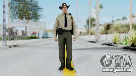 GTA 5 Sheriff pour GTA San Andreas deuxième écran