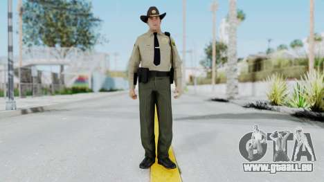 GTA 5 Sheriff für GTA San Andreas zweiten Screenshot