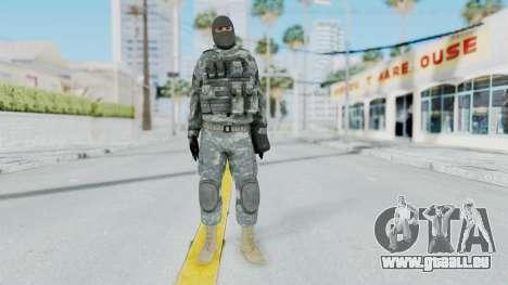 Acu Soldier 3 für GTA San Andreas zweiten Screenshot