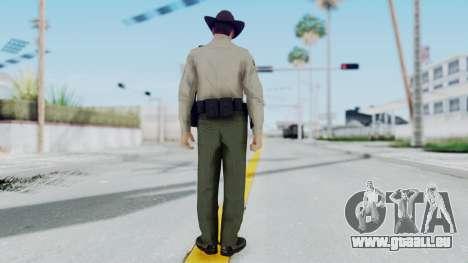 GTA 5 Sheriff pour GTA San Andreas troisième écran