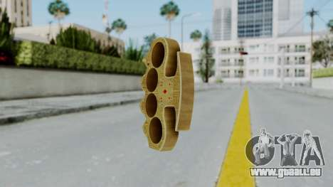 The Player Knuckle Dusters from Ill GG Part 2 für GTA San Andreas zweiten Screenshot