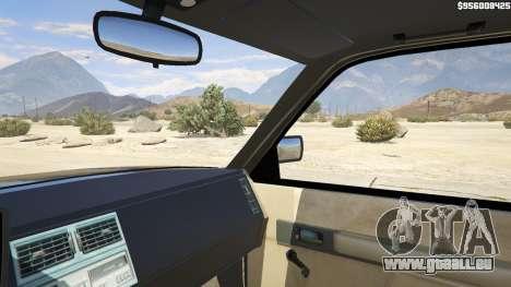 GTA 5 1994 Chevrolet Silverado arrière droit vue de côté