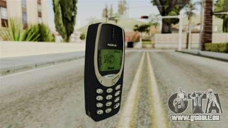 Nokia 3310 pour GTA San Andreas deuxième écran
