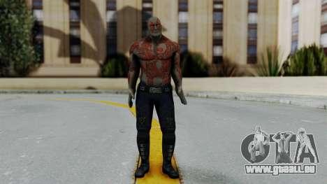 Marvel Heroes - Drax pour GTA San Andreas deuxième écran