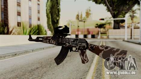 AK-47 F.C. Camo pour GTA San Andreas deuxième écran