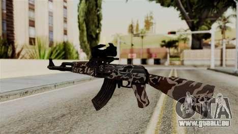 AK-47 F.C. Camo für GTA San Andreas zweiten Screenshot