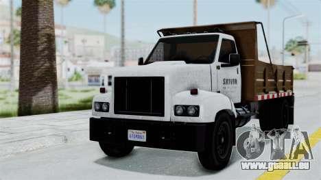 GTA 5 Tipper Second Generation pour GTA San Andreas