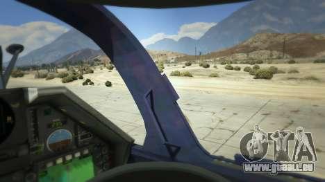 GTA 5 Dassault Mirage 2000-5 cinquième capture d'écran