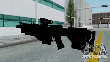 Kusanagi ACR-10 Assault Rifle für GTA San Andreas dritten Screenshot