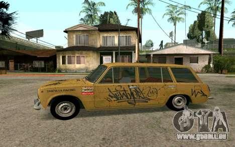 VAZ 2102 BK pour GTA San Andreas vue de droite