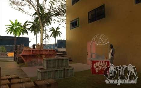 Des travaux de réparation sur Grove Street pour GTA San Andreas onzième écran