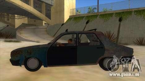 Dacia 1310 Rusty v2 pour GTA San Andreas laissé vue