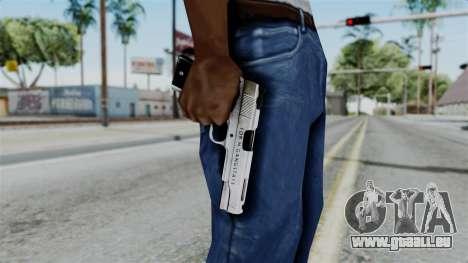 For-h Gangsta13 Pistol pour GTA San Andreas troisième écran