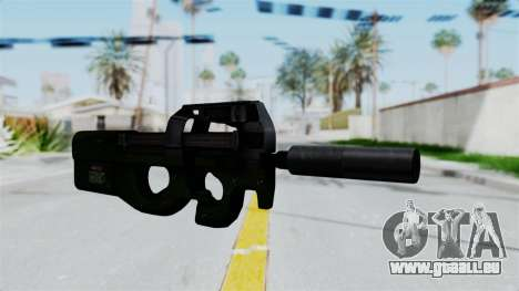P90 Green für GTA San Andreas